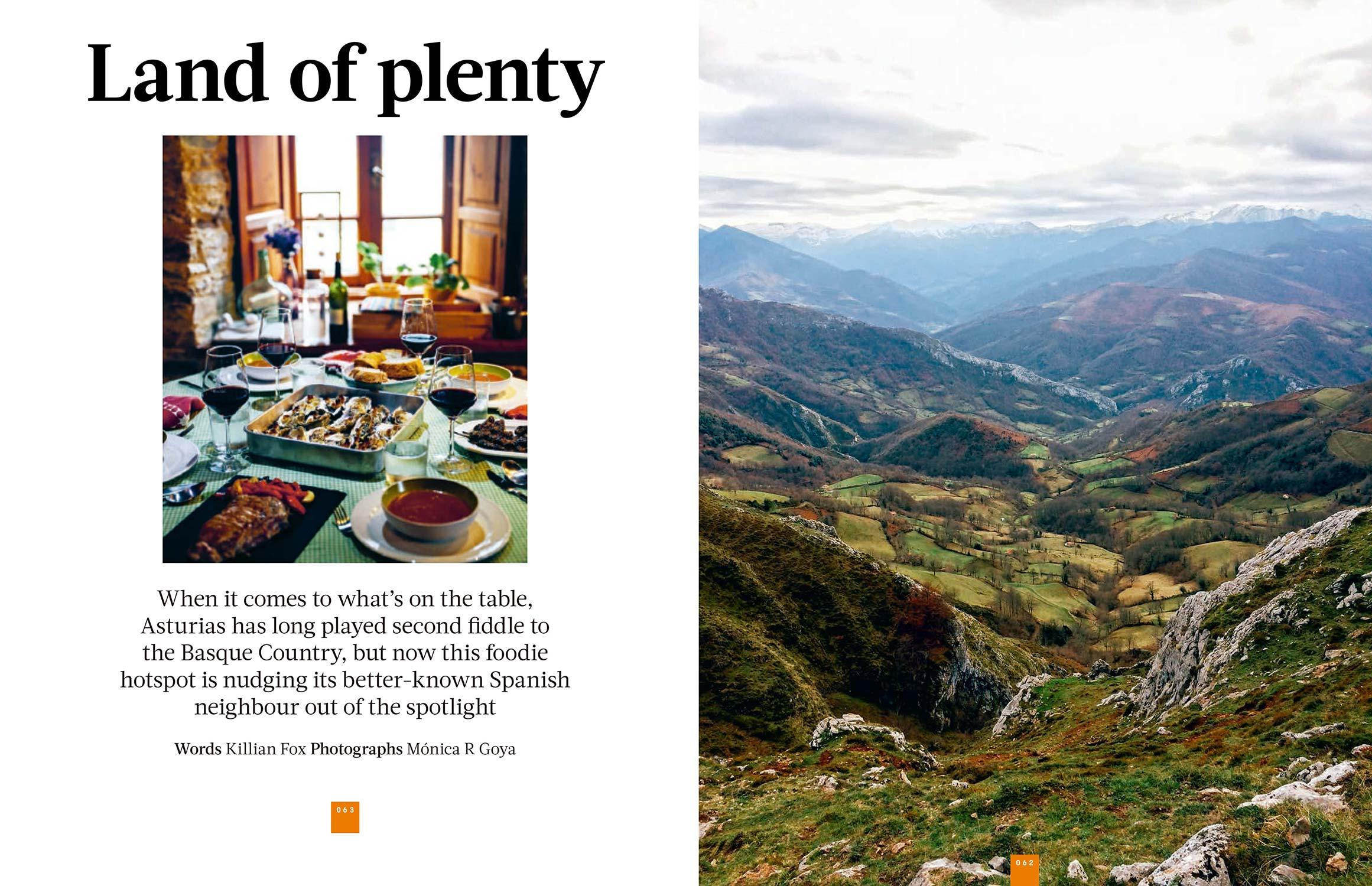 Asturias, Land of Plenty - easyJet Traveller March 2017 - Photography