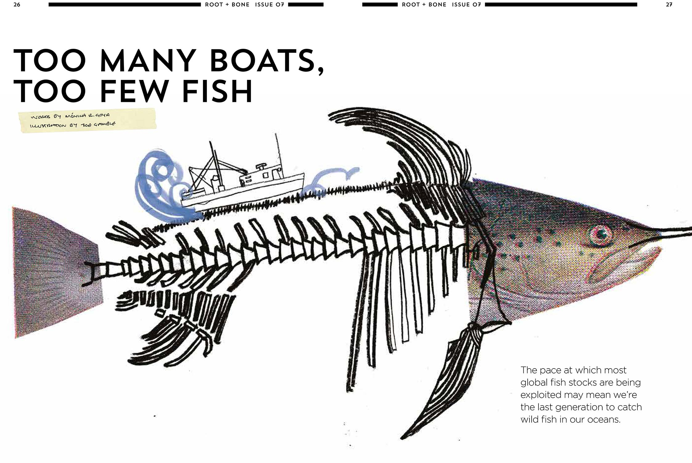 'Too Many Boats, Too Few Fish' - Root and Bone issue 7, 2015 - Words