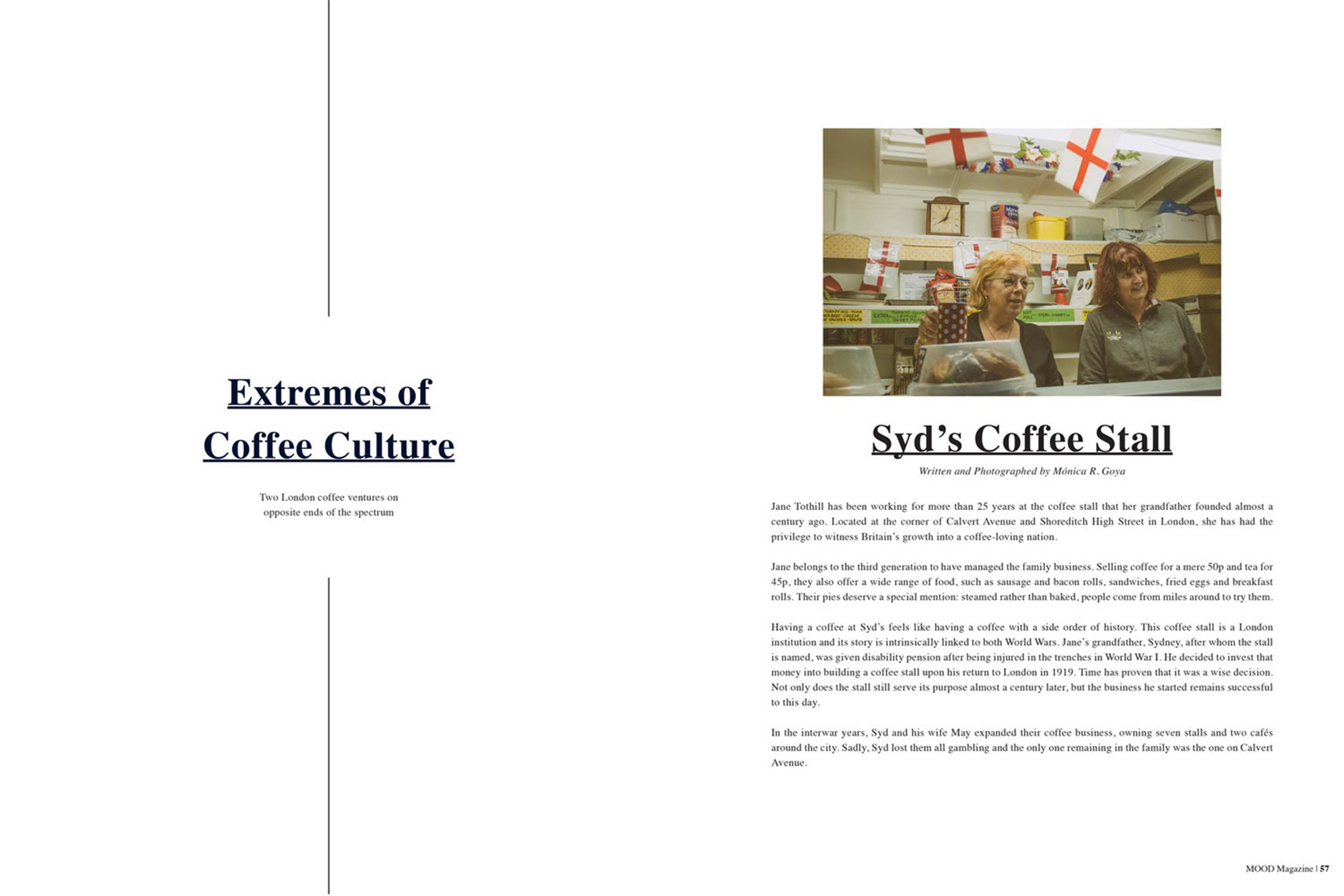 'Extremes of Coffee Culture' - Mood magazine, Issue 5, 2015 - Words & Photography