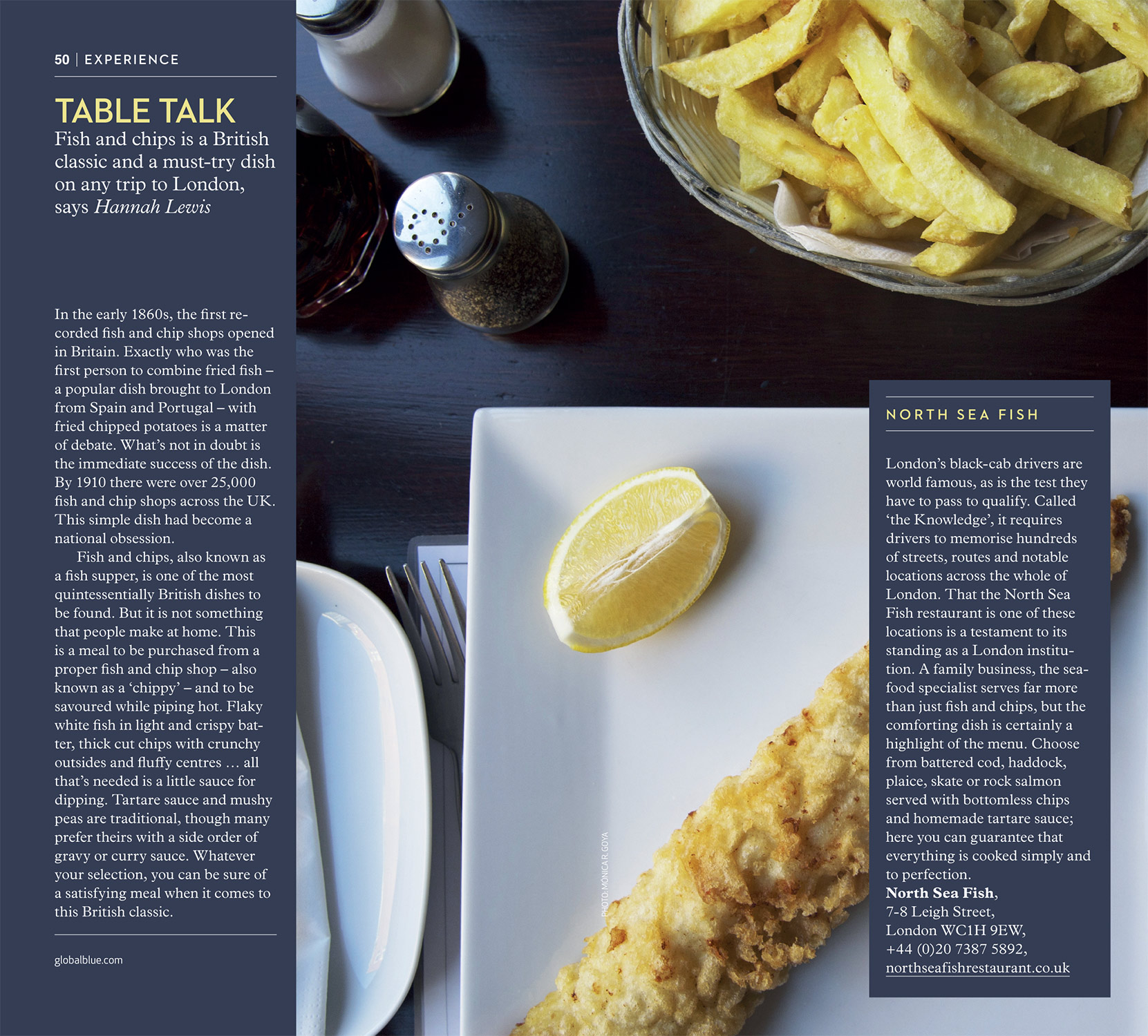 Fish & Chips in London - SHOP Magazine London Style edition SS17 - Photography