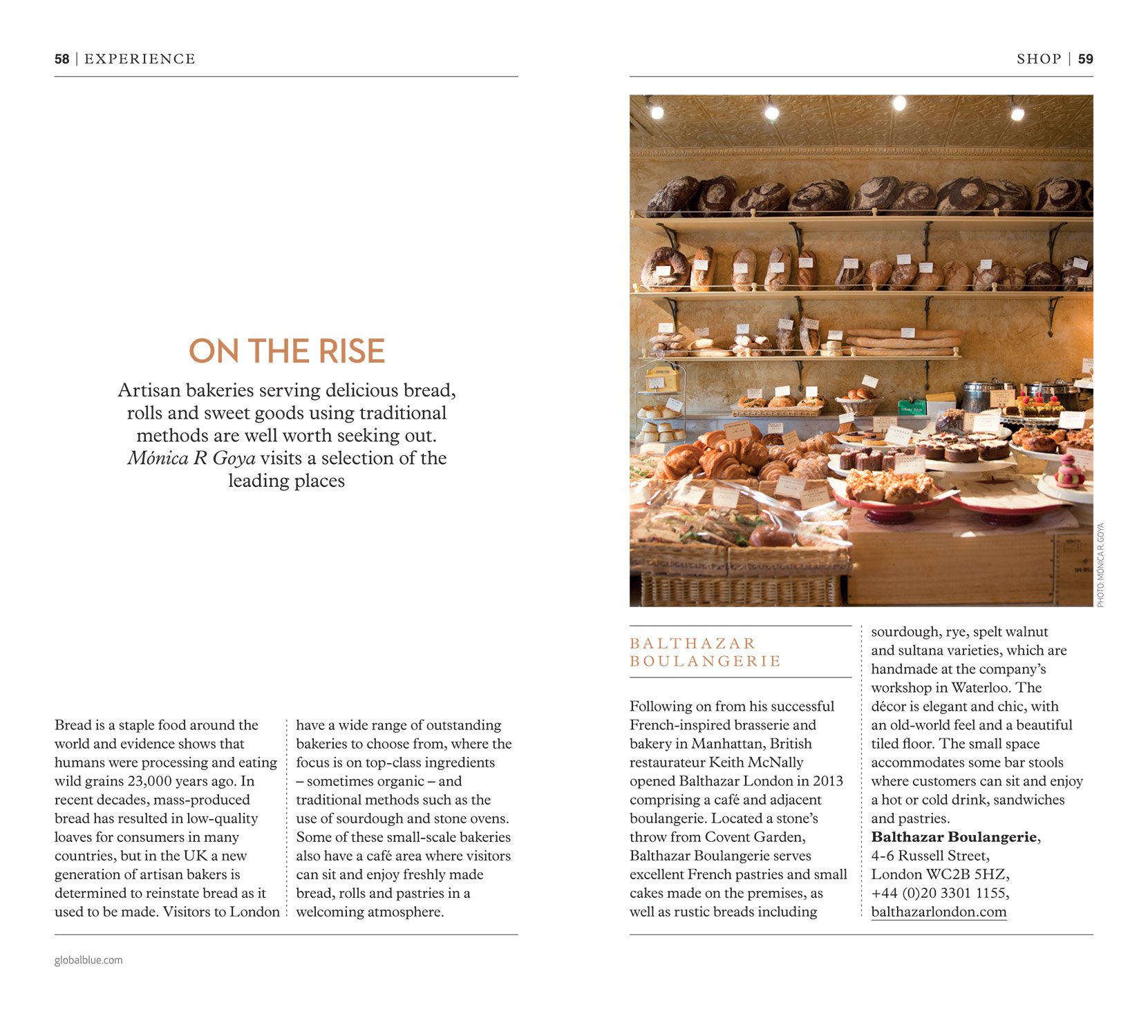 Best Bakeries in London - SHOP magazine London Style edition AW16 - Words & Photography