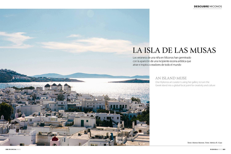 """An Island Muse"" - Iberia Ronda magazine May 2018 - Photography"