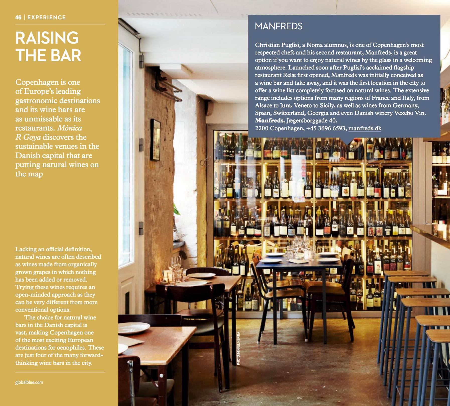 Natural wine bars in Copenhagen - SHOP magazine Copenhagen edition AW18 - Writing