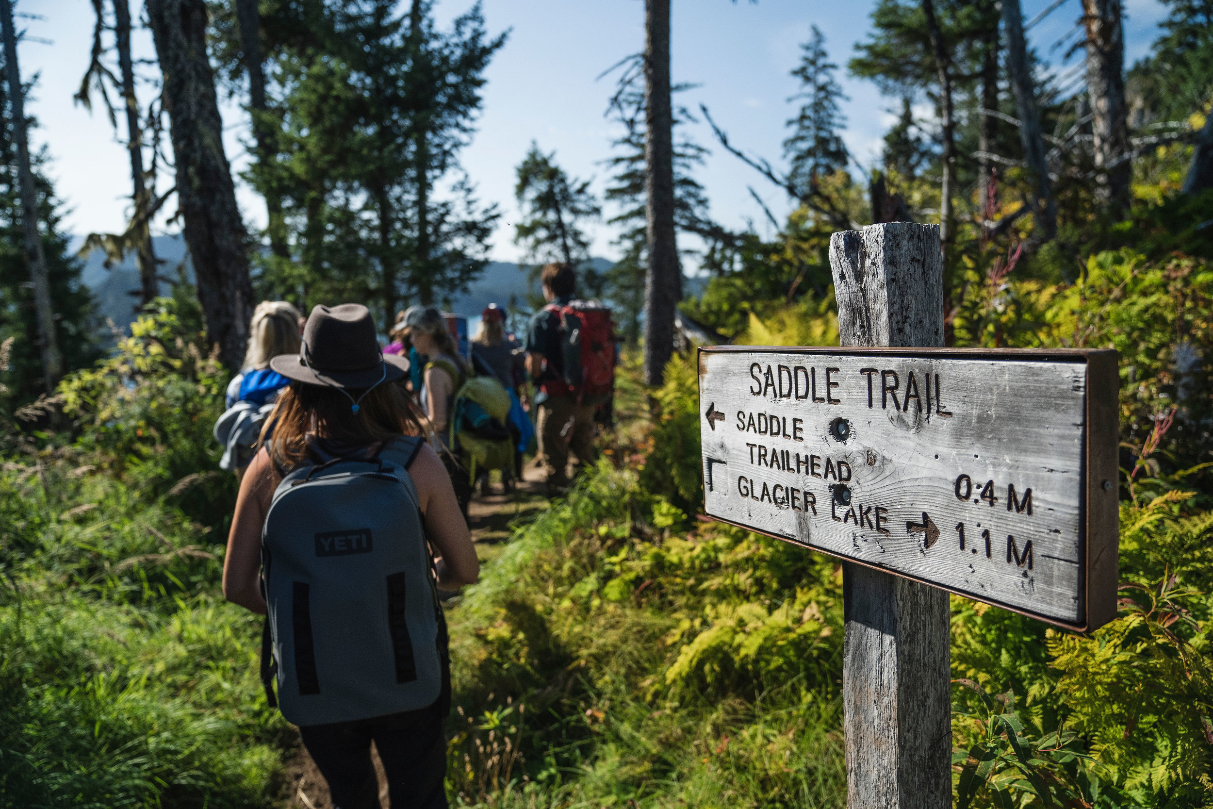 Saddle Ridge Trailhead