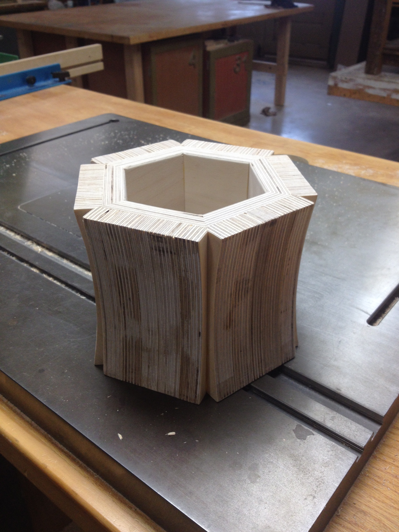 the heart of the table base