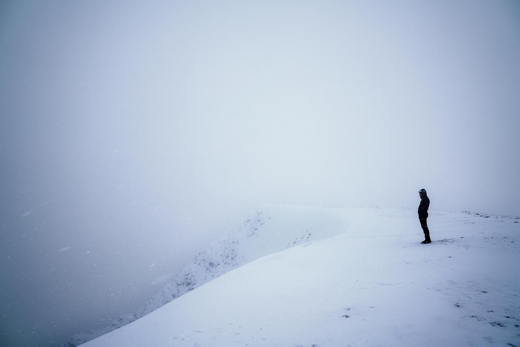 Helvellyn summit