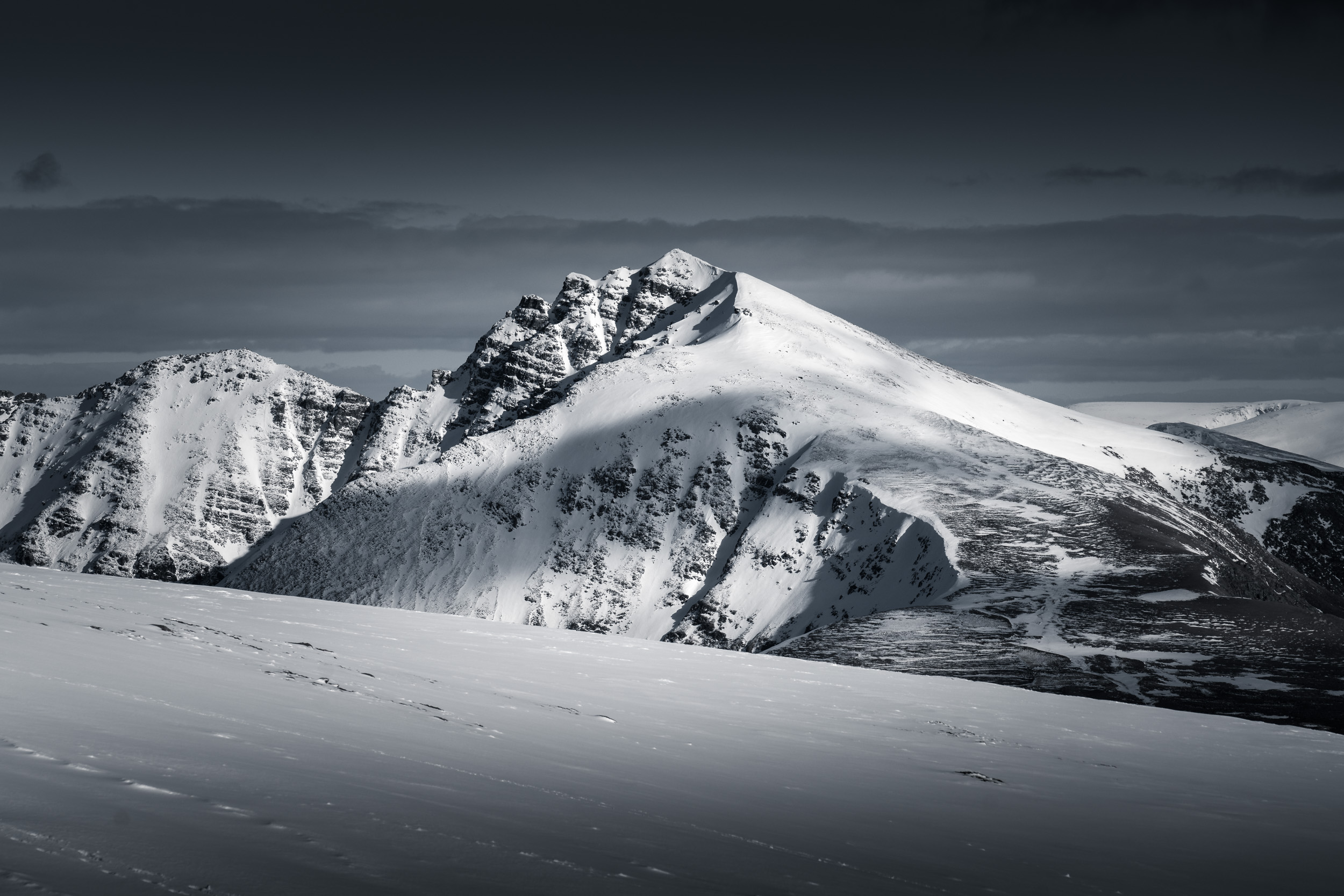 Torridon in Snow