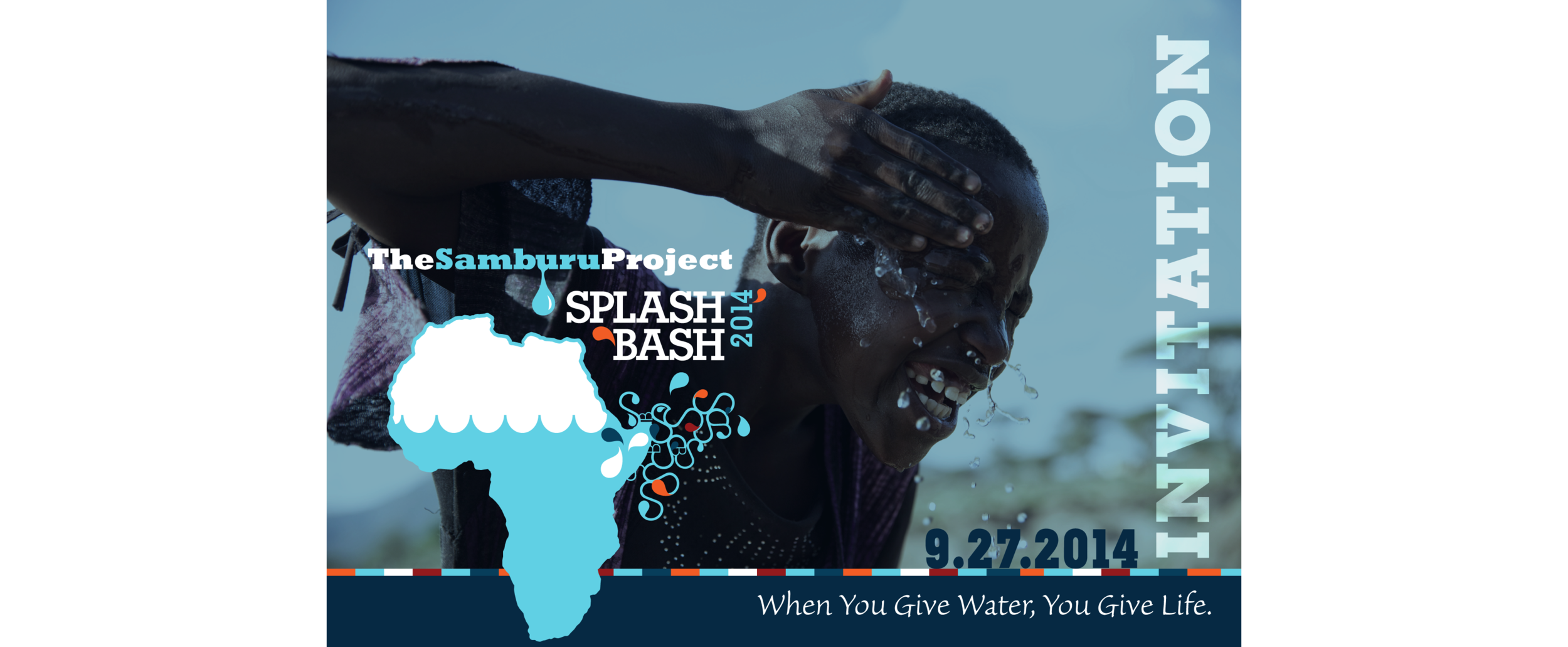 milk + brookies is honored to sponsor Splash Bash 2014,  The Samburu Project's  fundraising gala for clean water.  The Samburu Project  provides easy access to clean, safe drinking water to communities in northern Kenya.  Approximately 4,500 children die every day due to the lack of clean drinking water. YOU can change this by getting involved with  The Samburu Project.  Join milk + brookies in supporting this worthy cause by making a donation, volunteering your time or promoting their work.  - m+b