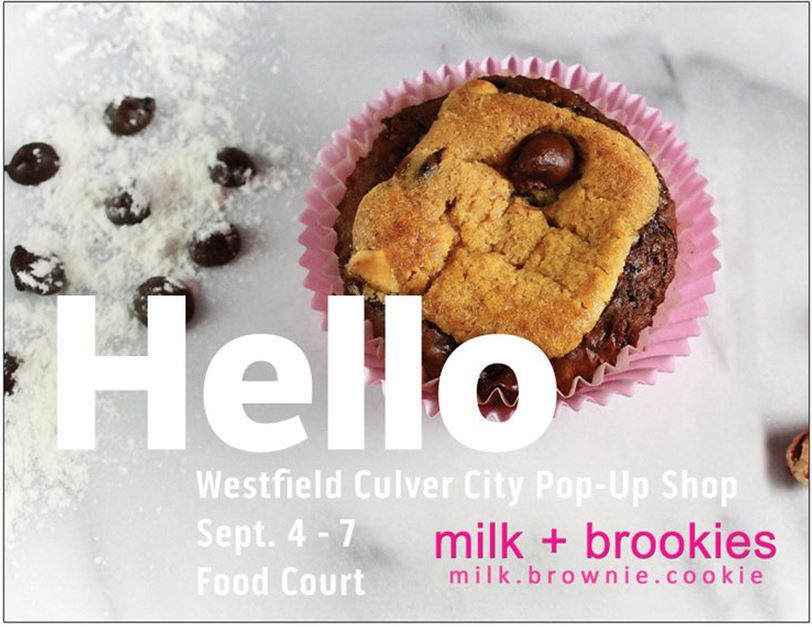 We are so exited to host our first Pop-Up Shop. Join us at Westfield Culver City as we spread our brookie goodness Labor Day Weekend!