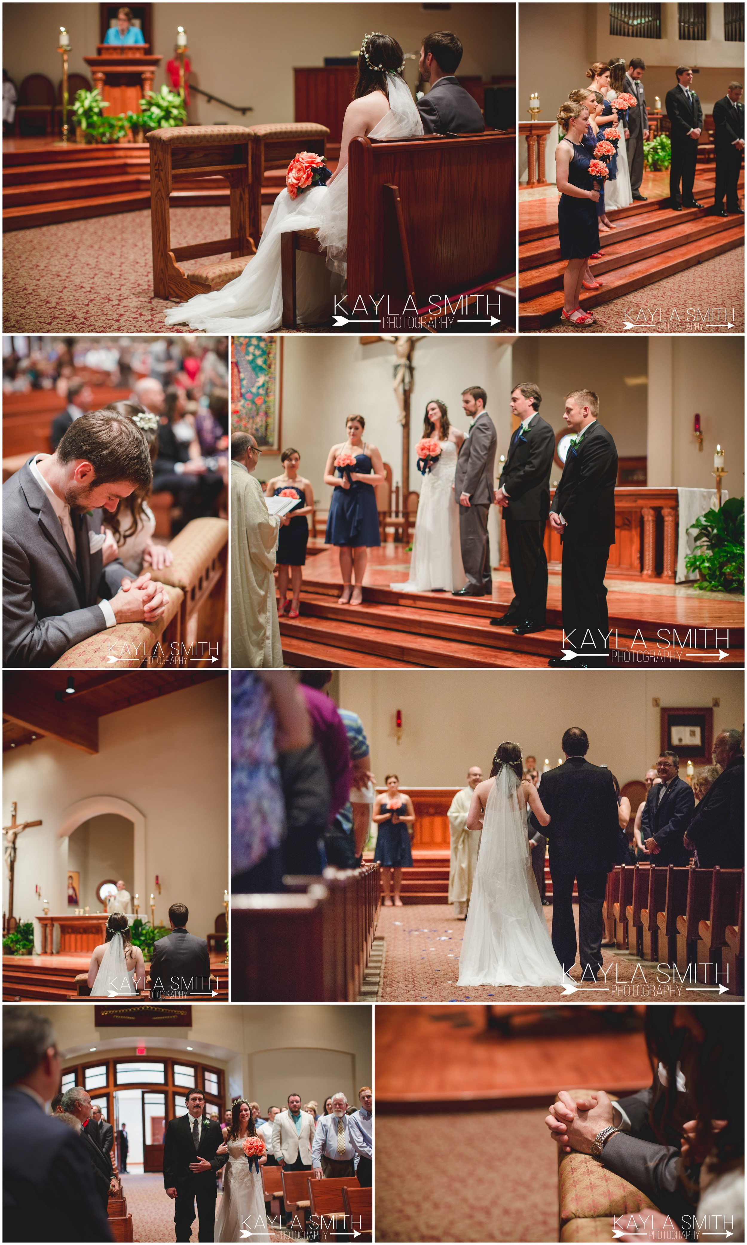 The couple fell in love at  St. Mary's Cathedral  in Amarillo, TX.