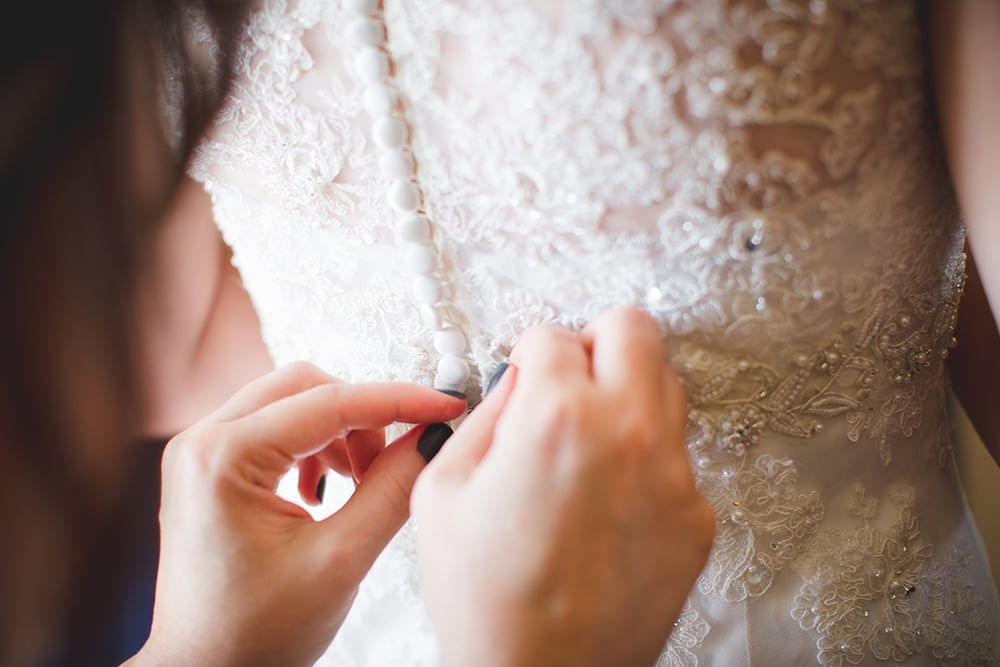 Hint: It has nothing to do with your wedding dress.
