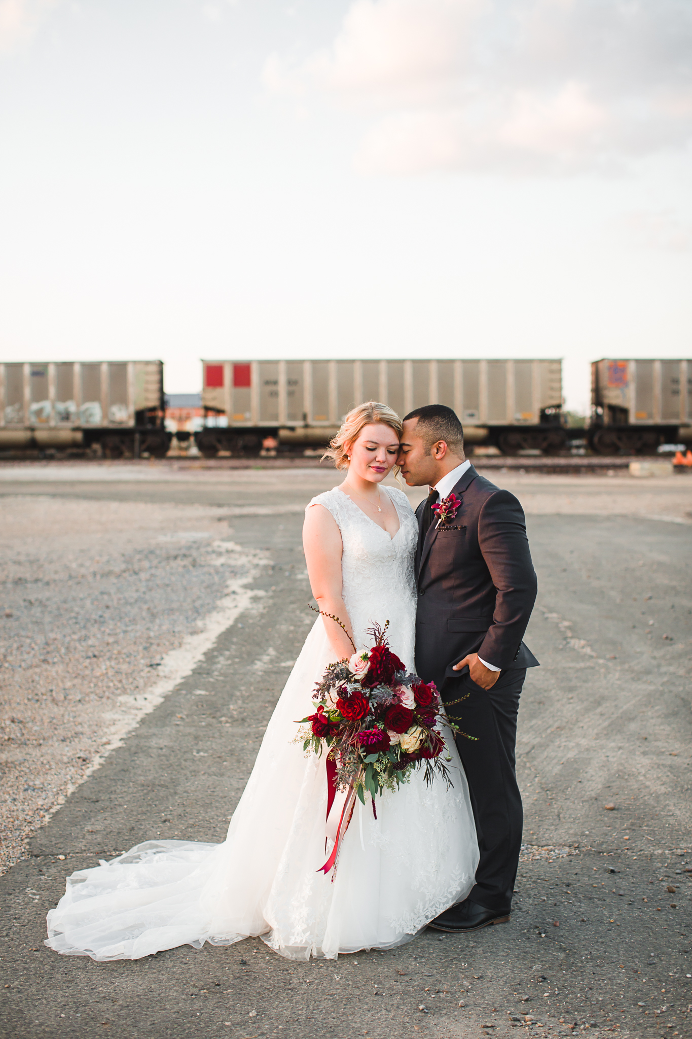 I loved the unique-ness of this wedding day and I have some exciting news about it that I can't share right now!