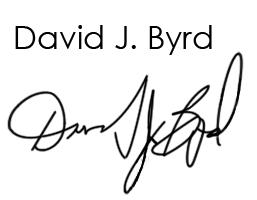Digital Signature David Byrd