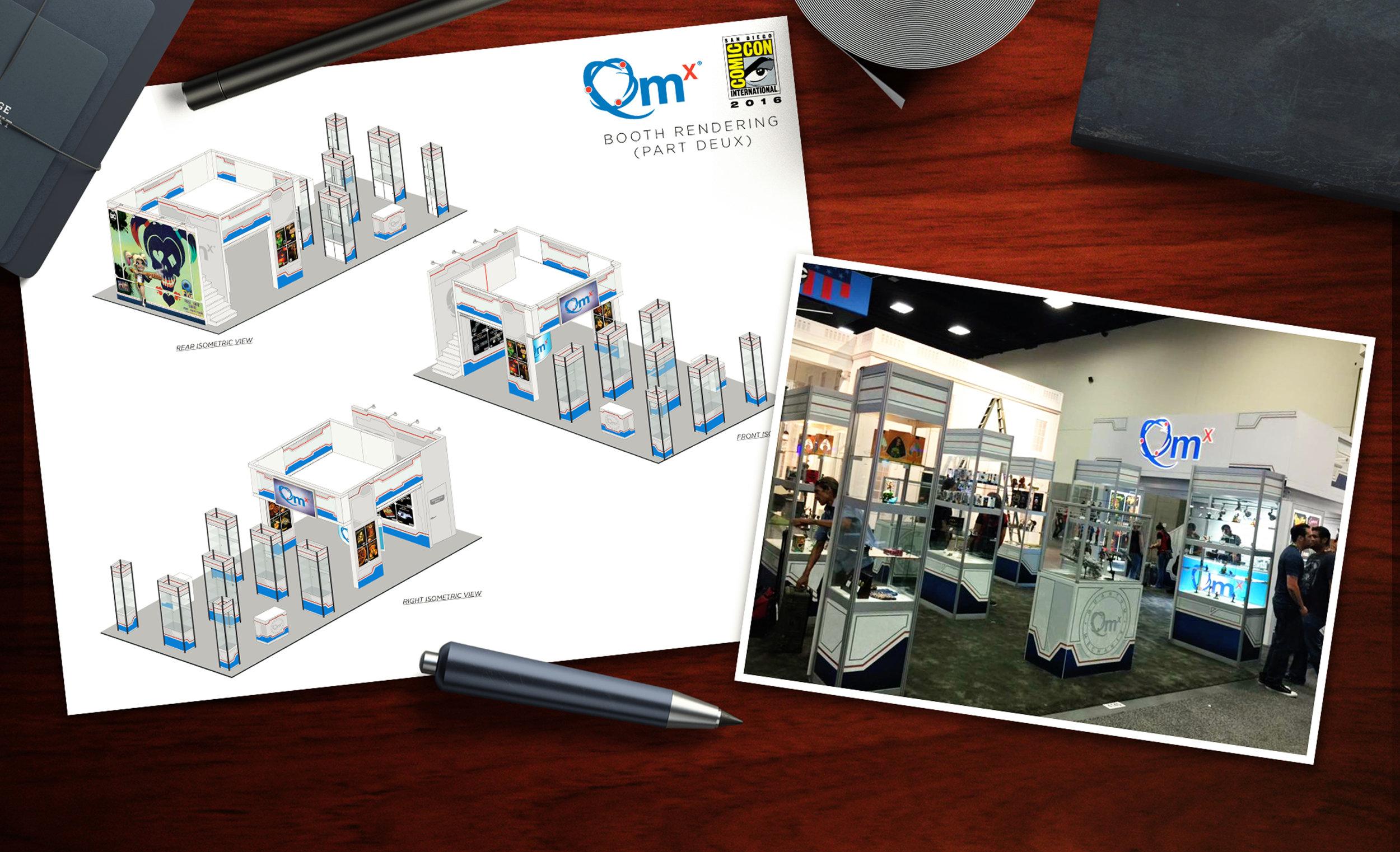 Exhibition Booth Design — Nick Kremenek dot com
