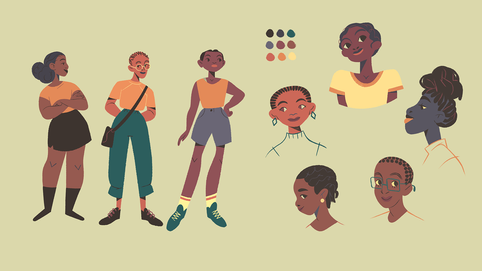 tom-goyon-character-design-ugandan-girls-01