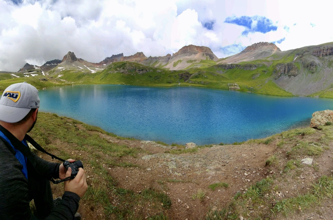 Anthony hiked to Ice Lakes Basin on one of his weekends away from Mesa Verde National Park