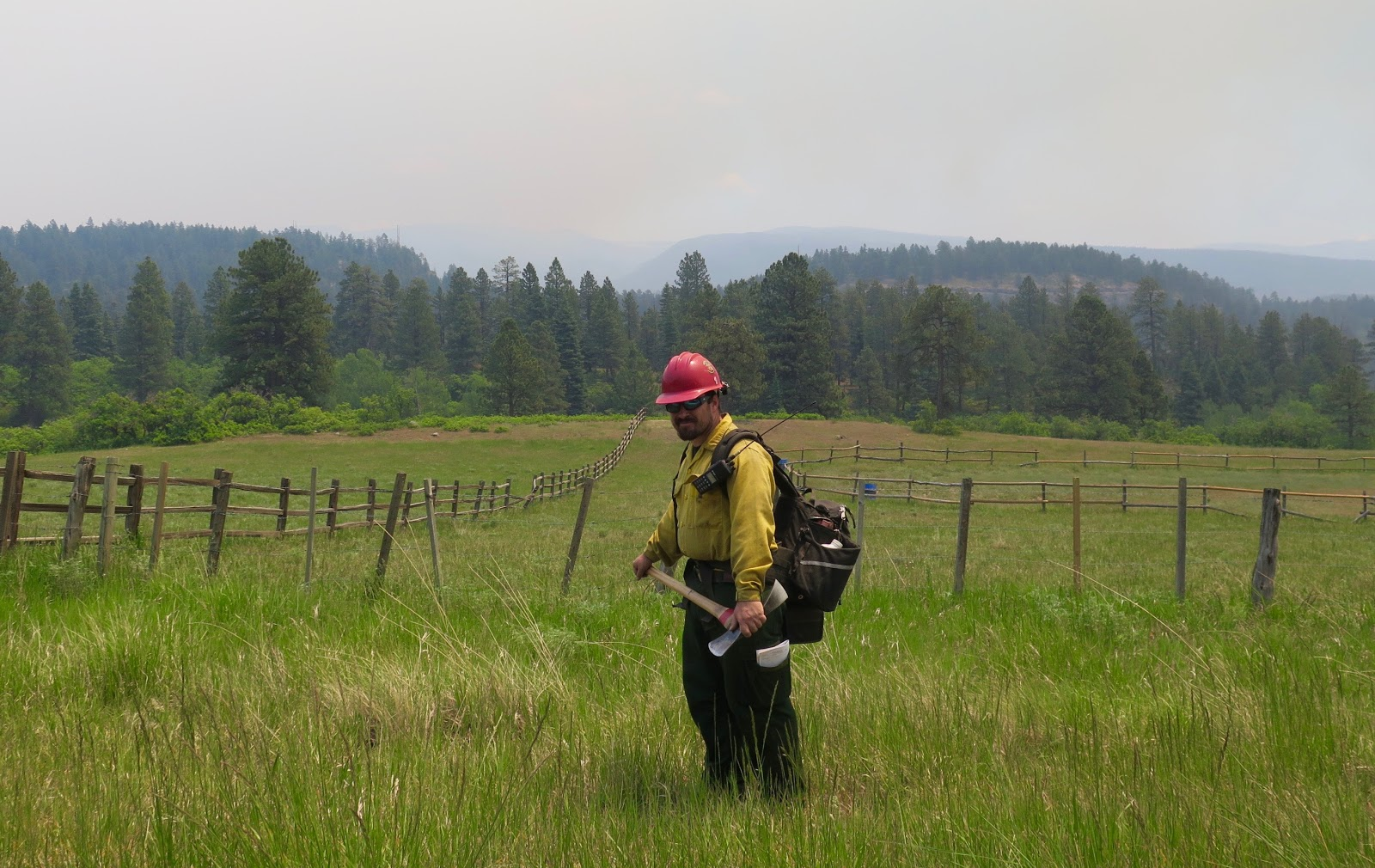 416 firefighter, photo by Priscilla Sherman