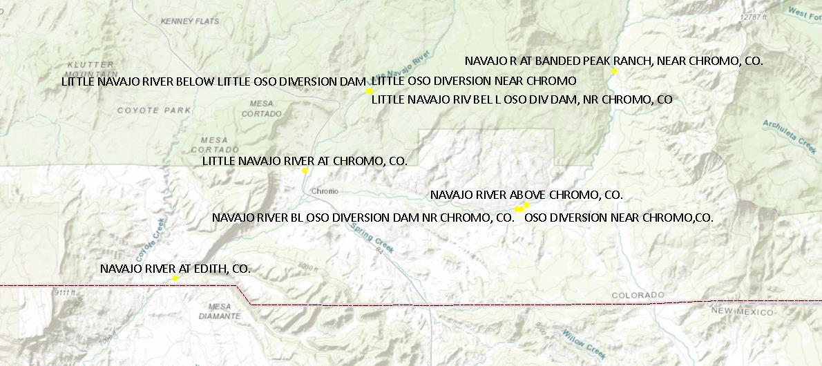 Upper Navajo Gauges