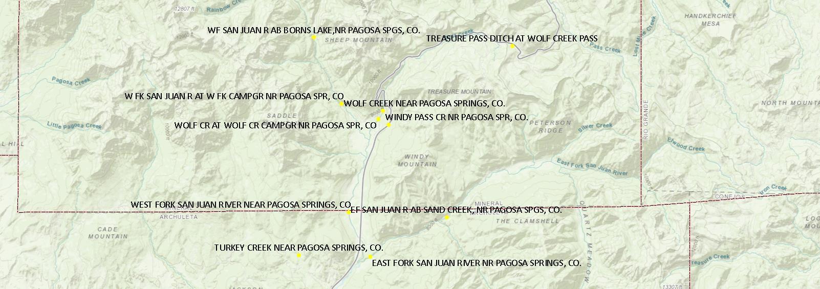 Upper San Juan Gauges