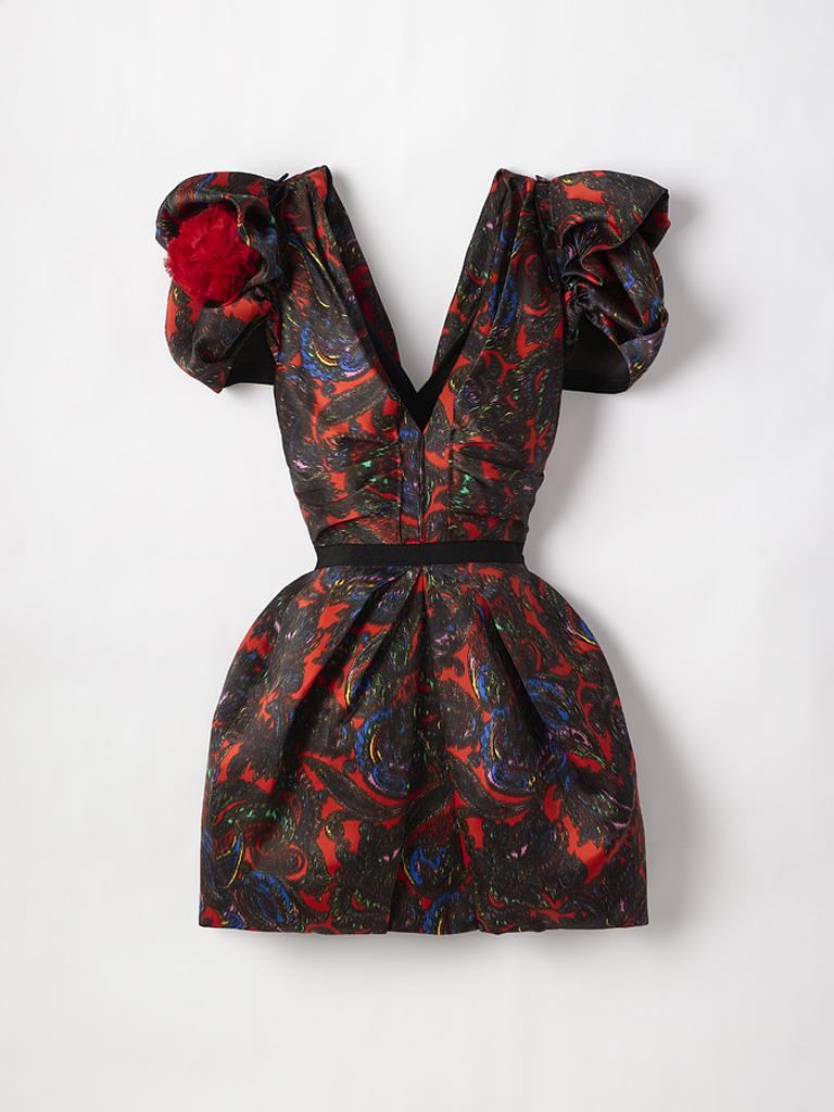 046 LOUIS VUITTON red dress_BL.jpg