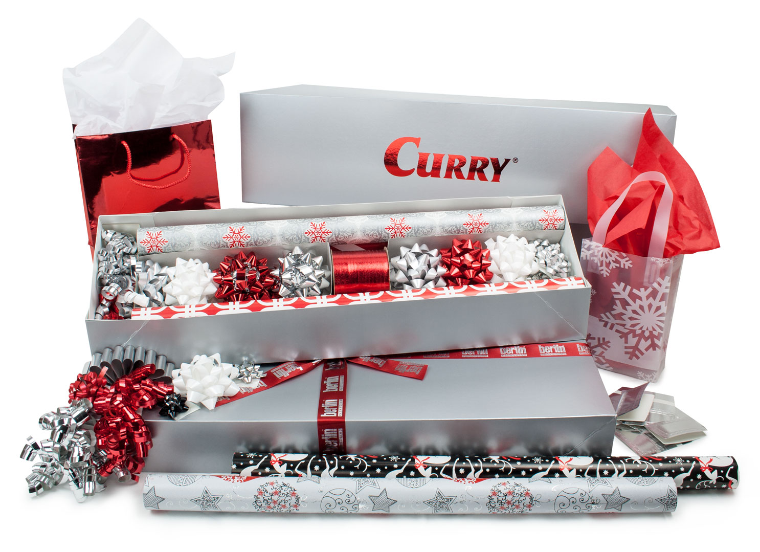 Our Gift Wrap Kits can be customized with your companies' logo.