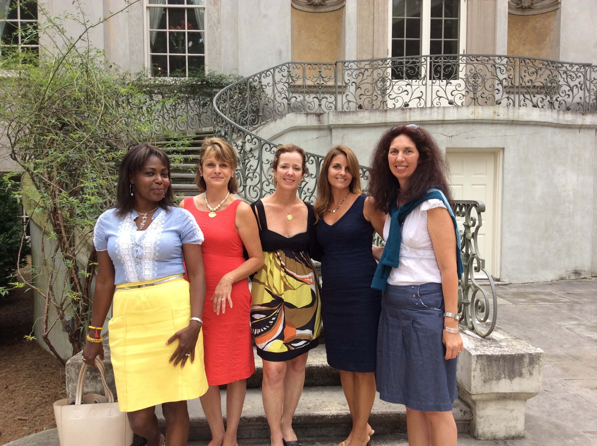 Touring this beautiful chateau with the spouses of the Distinguished Clubs of The World tour 2014
