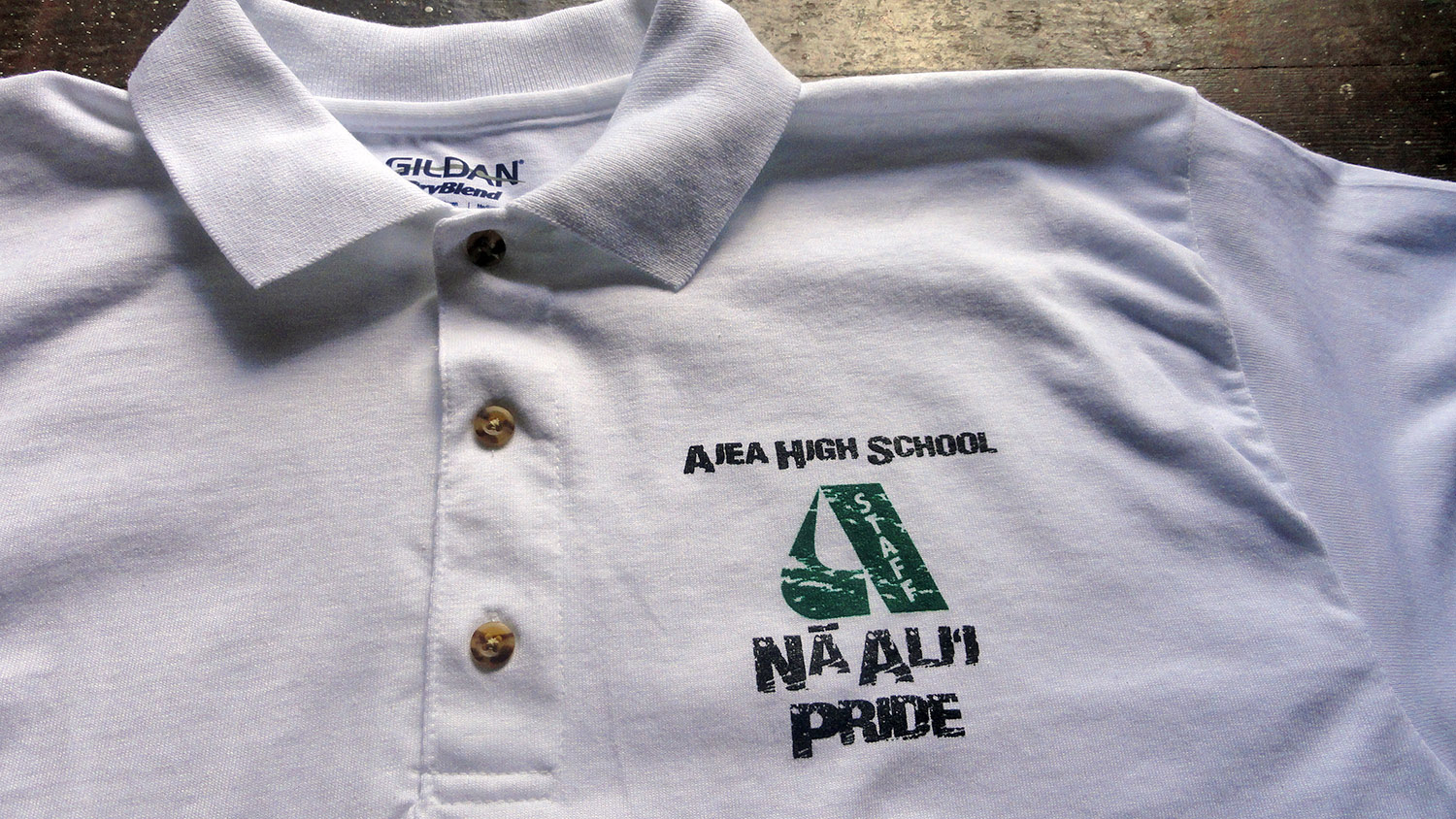 Aiea High custom shirts Honolulu, Hawaii