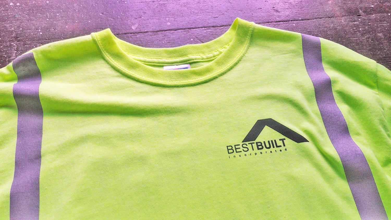 Best Built Construction Custom Shirts Honolulu, Hawaii