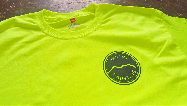 Custom shirts for Three Peaks Painting in Oahu, Hawaii