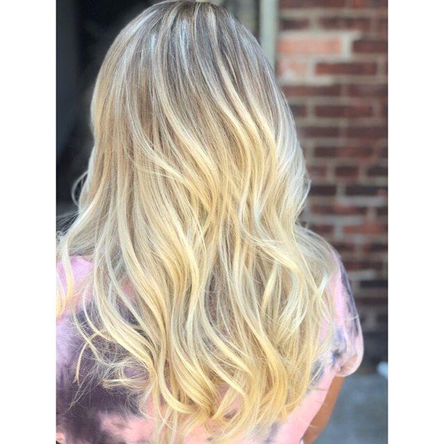 Blonde season is the best season 😍 Openings this week, come see me! @the.studio.salon