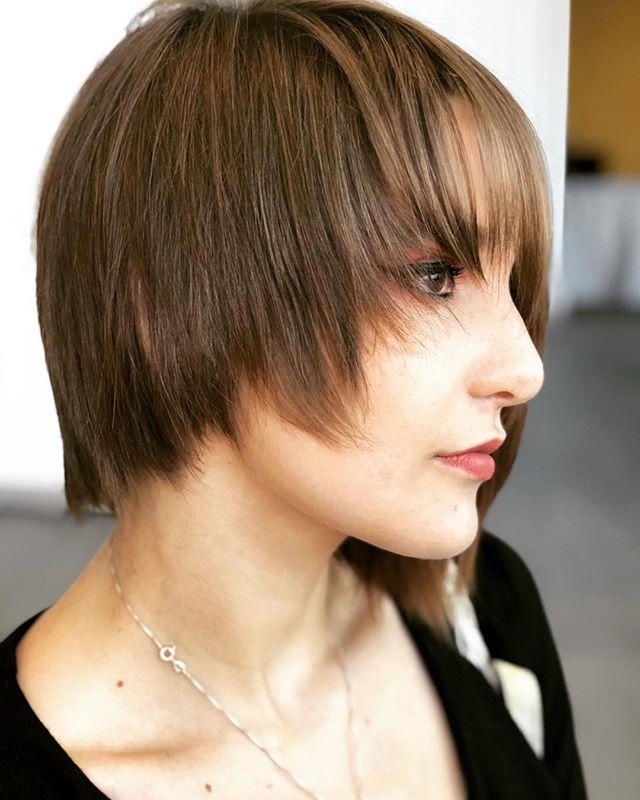 #razorcutstyle #razorcut #hair by @rachellemyarnell  representing @donaldscottnyc  at @premierebeautyclassic #columbusohio #hairstyles #haircut #pixiehaircut #pixiecut