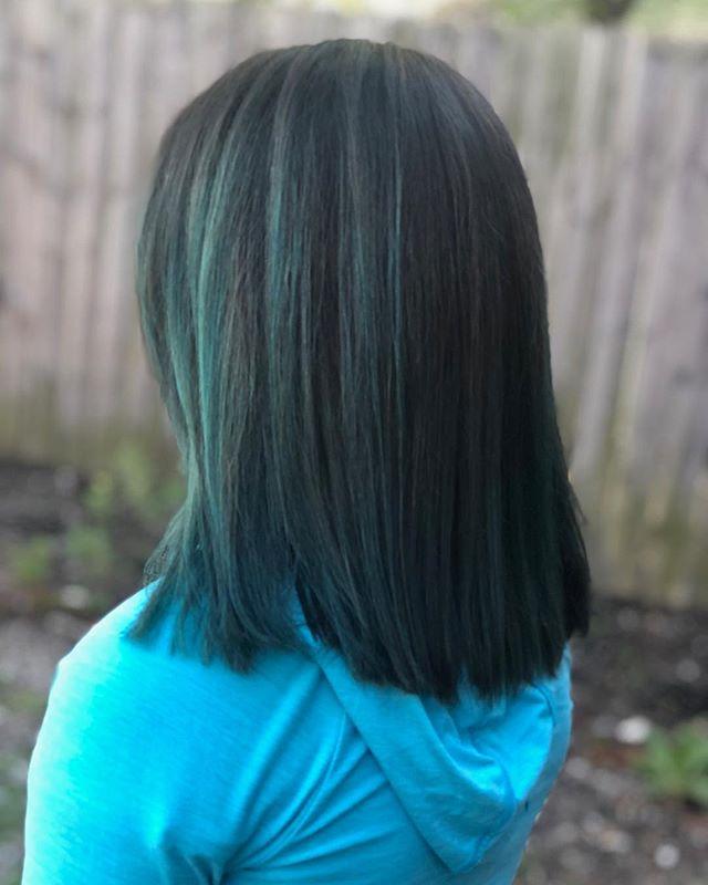 blue hair don't care #fashioncolorhair #bluehaircolor #haircolorideas @cosmoprofbeauty @modernsalon @ohiocityinc
