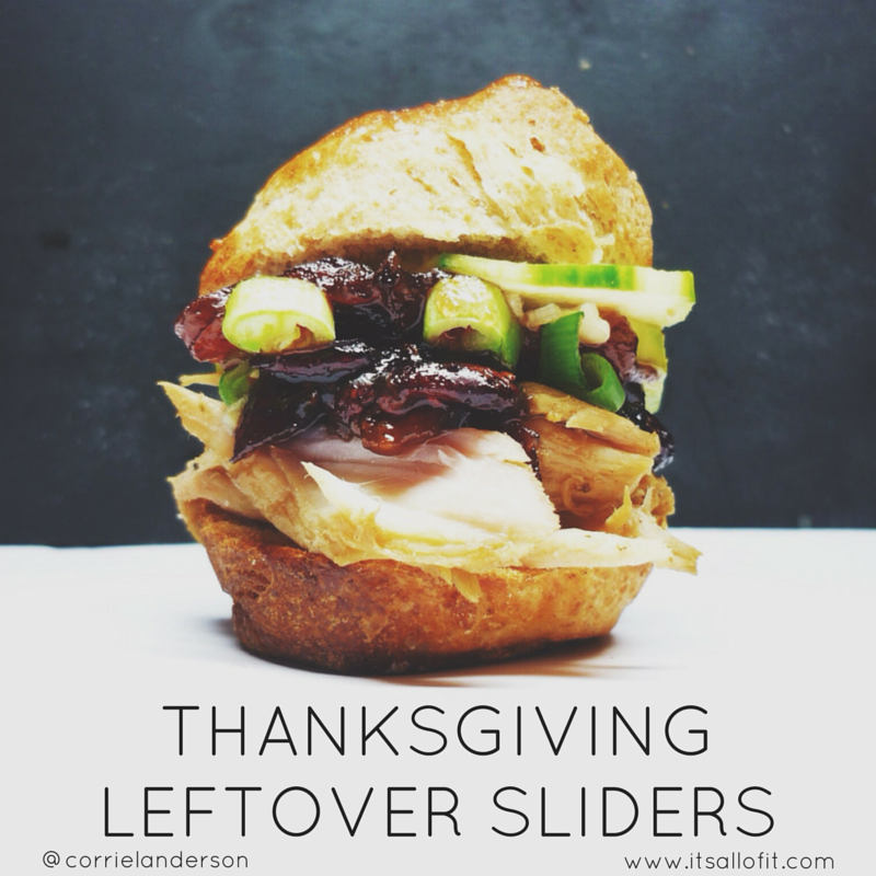 THANKSGIVING LEFTOVER SLIDERS - A delicious new spin on regular old Thanksgiving leftovers!