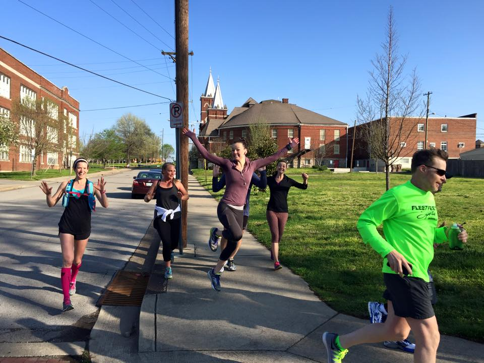 All of It - 22 miles & 8 Reasons Why You Should Train with a Group