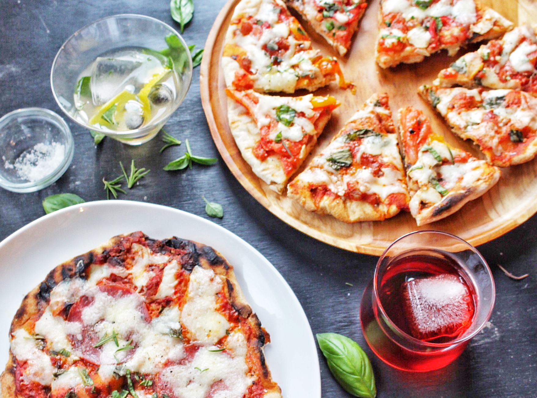 All of It - Grilled Pizza and cocktails