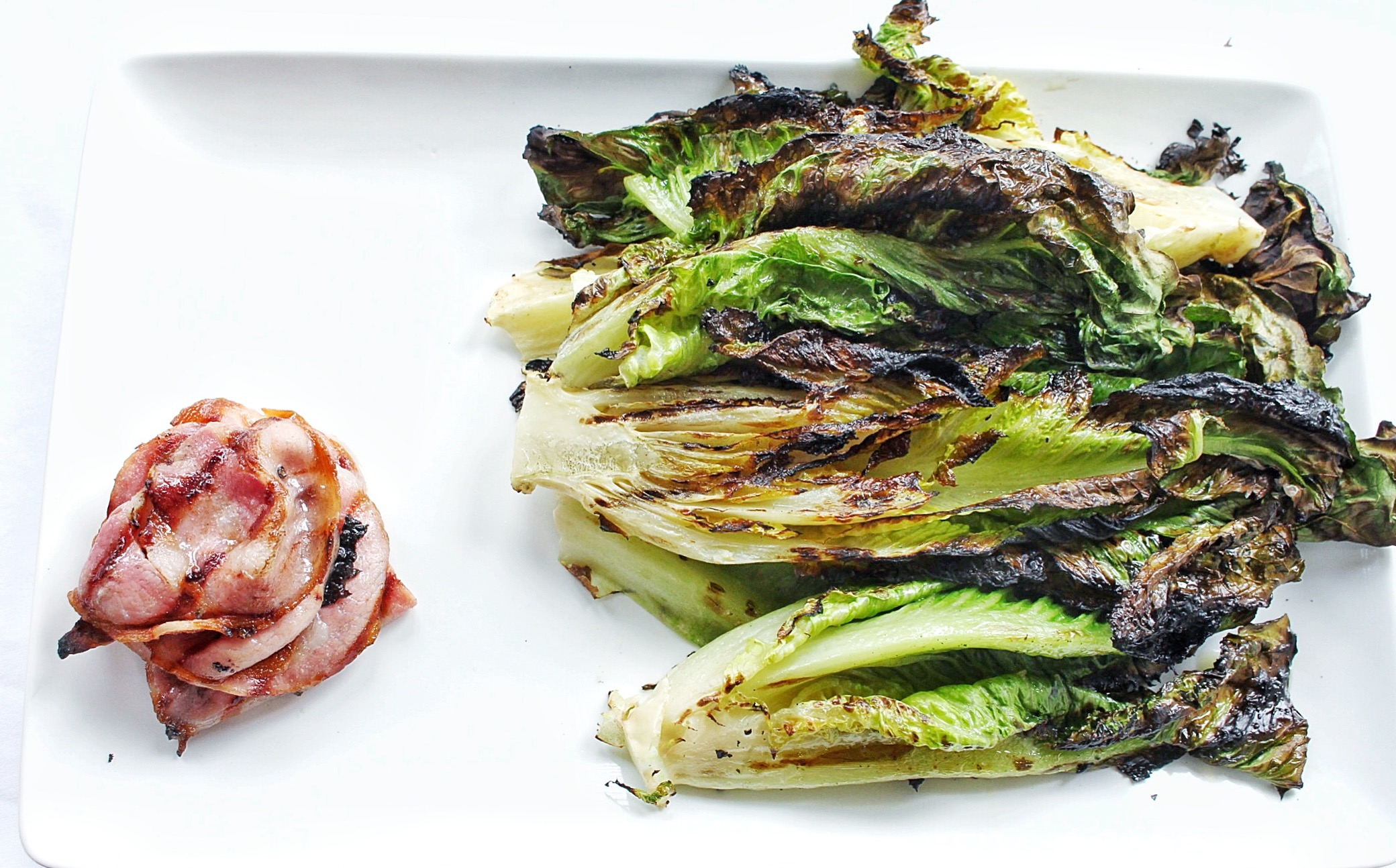 All of It - Grilled Romaine and pancetta