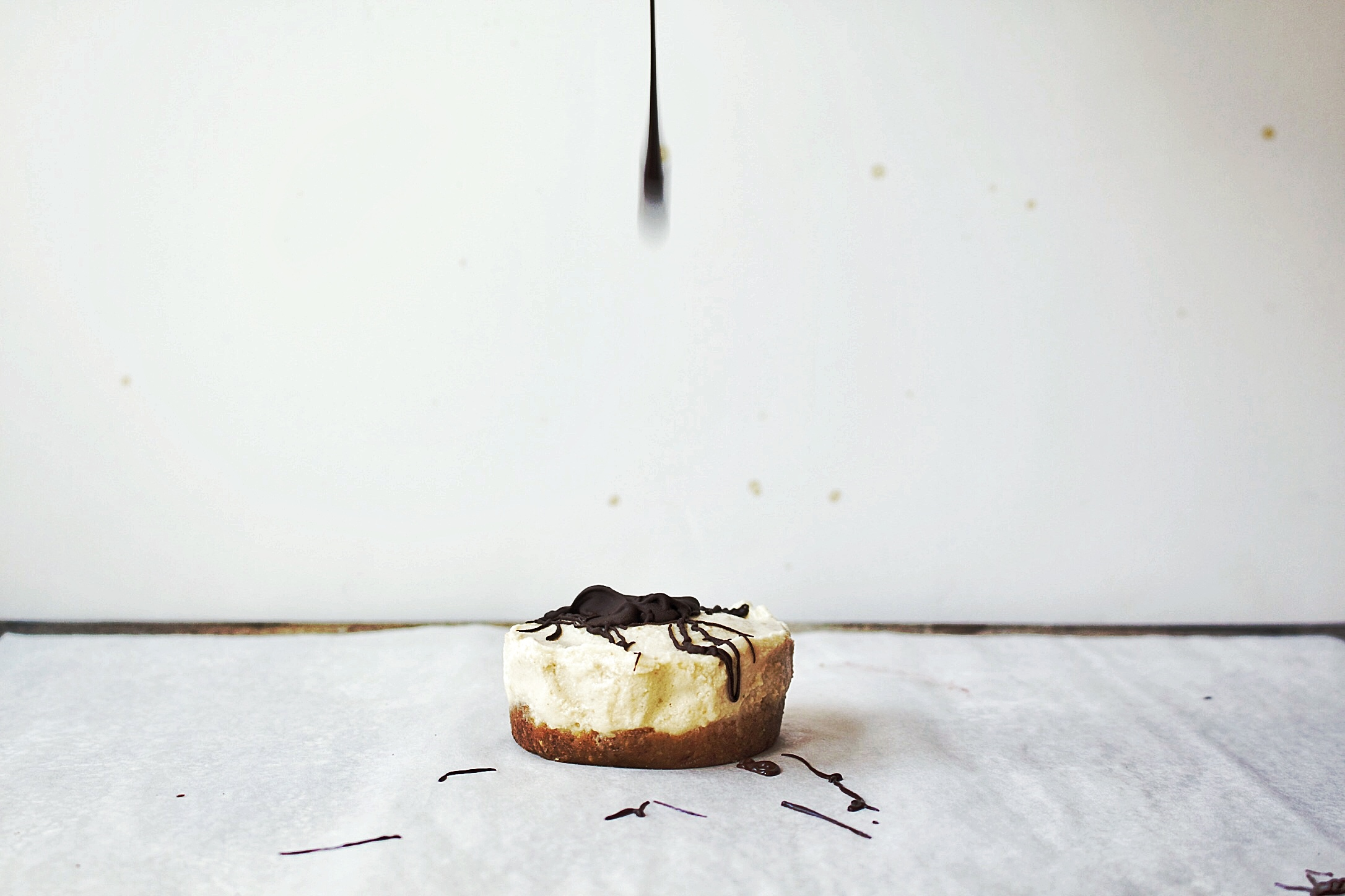 All of It - Easy Vegan Cheesecake - Chocolate Drop