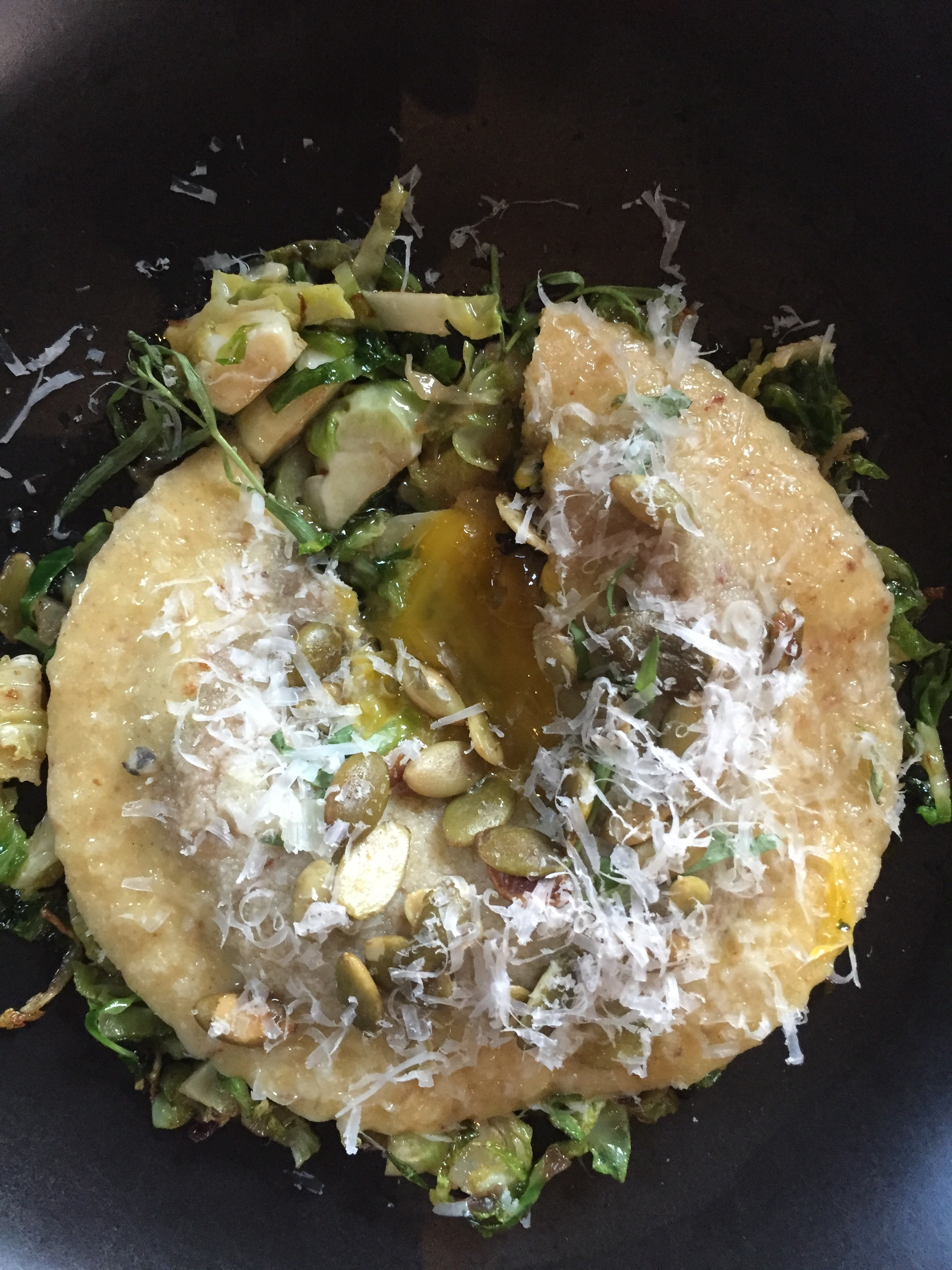 All of It - Spoon and Stable - Raviolo al Uovo