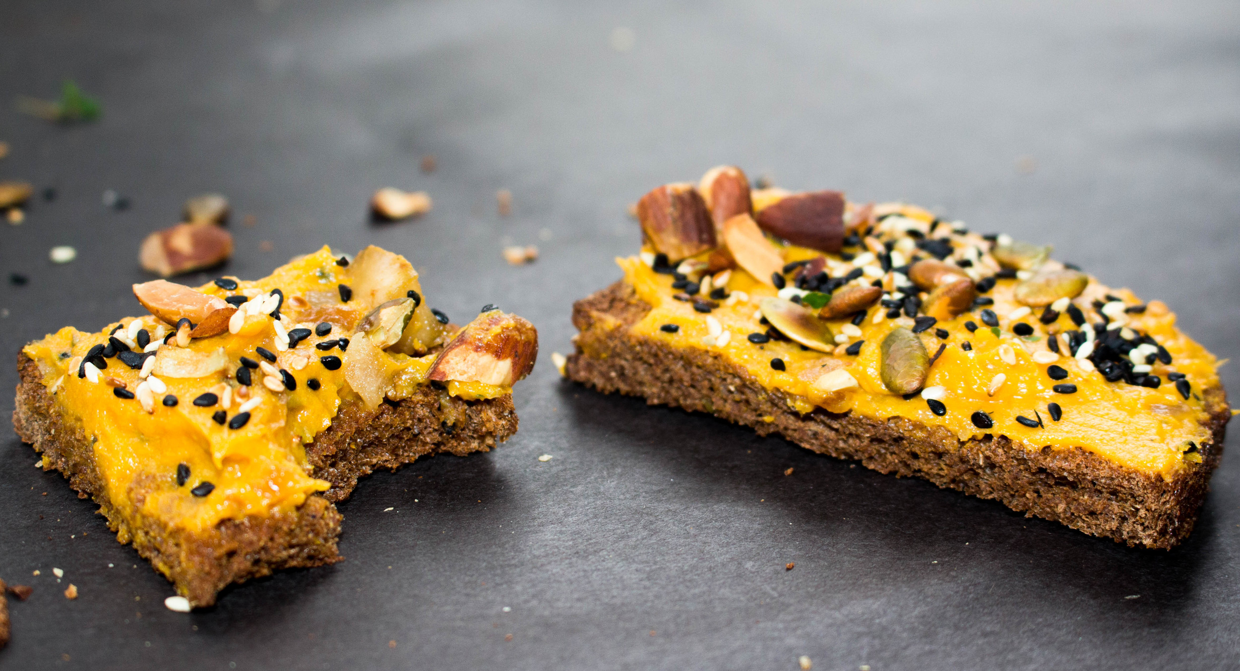All of It - Butternut Squash Toast