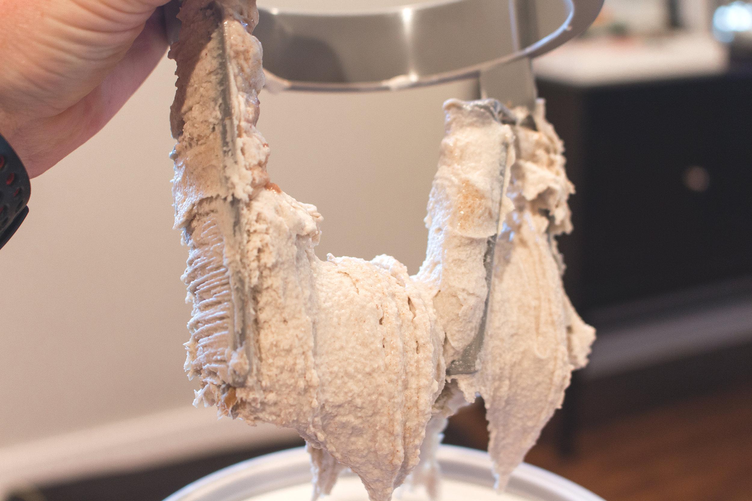 All of It - Roasted Banana Caramel Vegan Ice Cream
