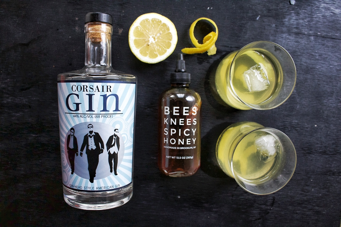 All of It - Spicy Bees Knees Cocktail