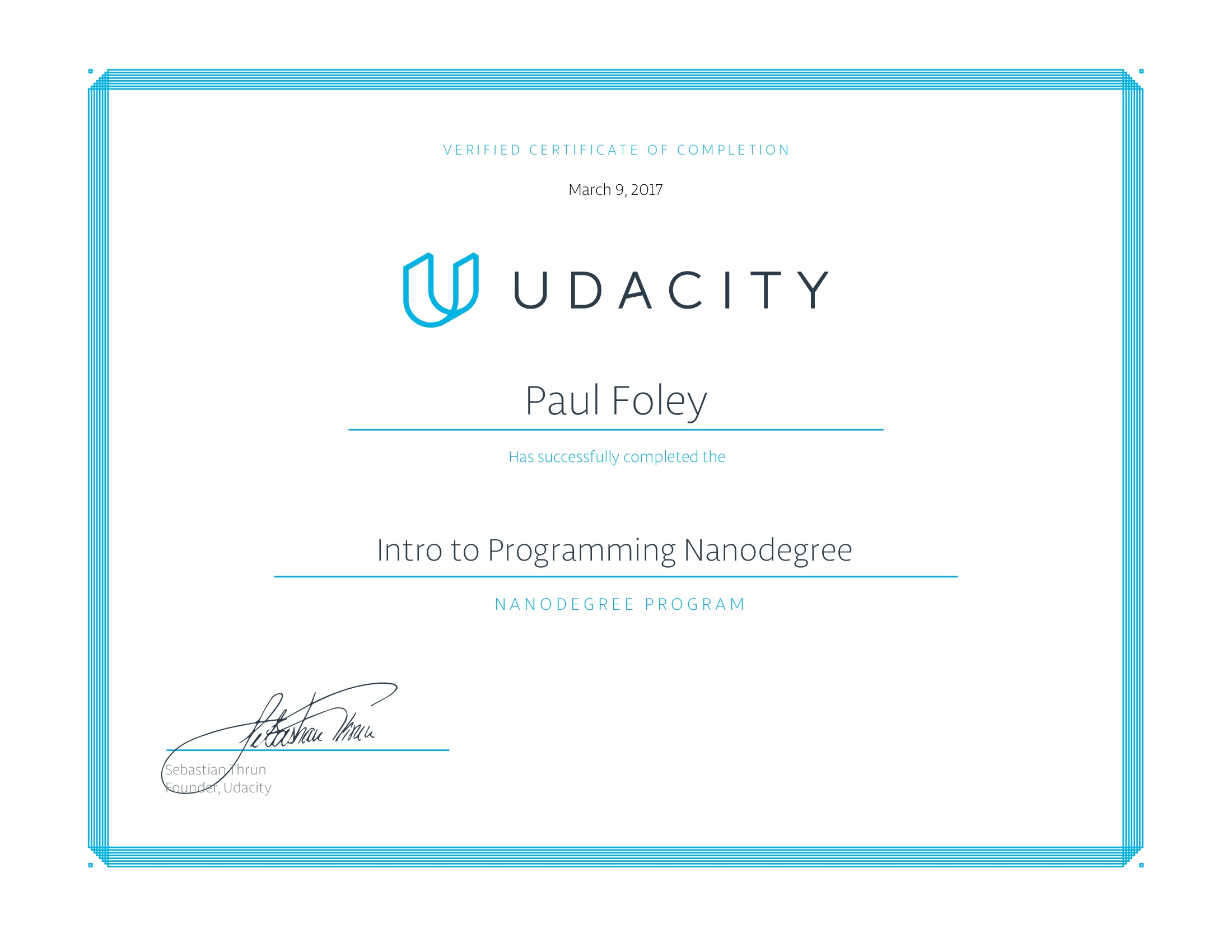 Udacity Nanodegree - Programming