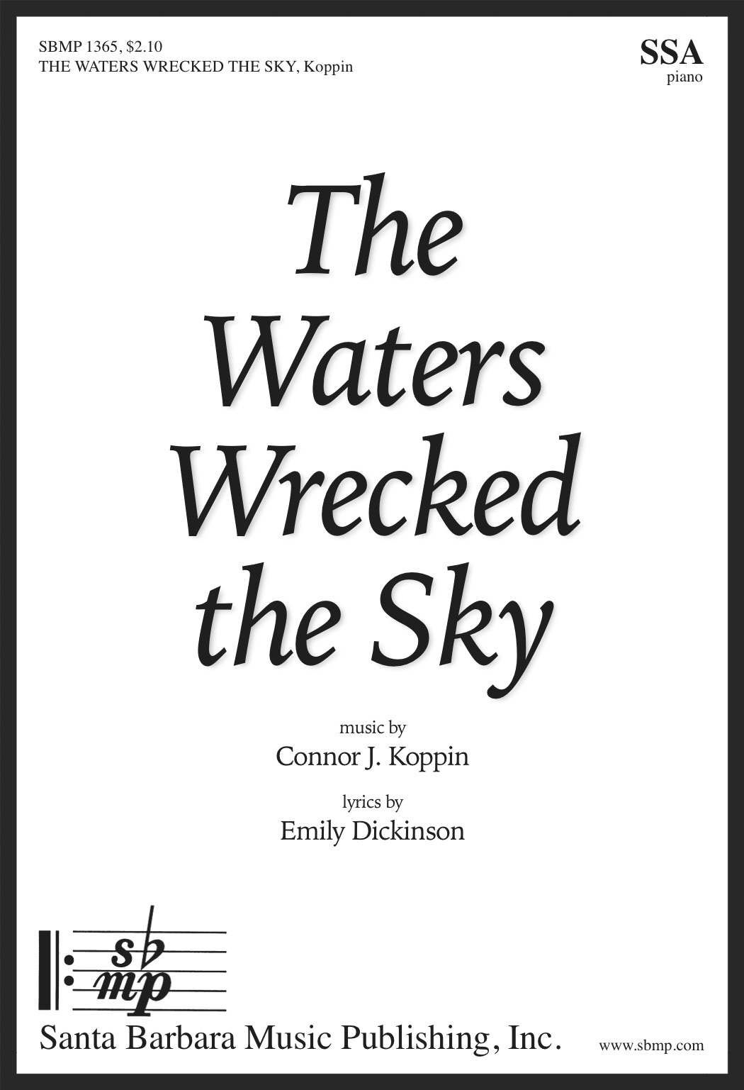 The Waters Wrecked the Sky