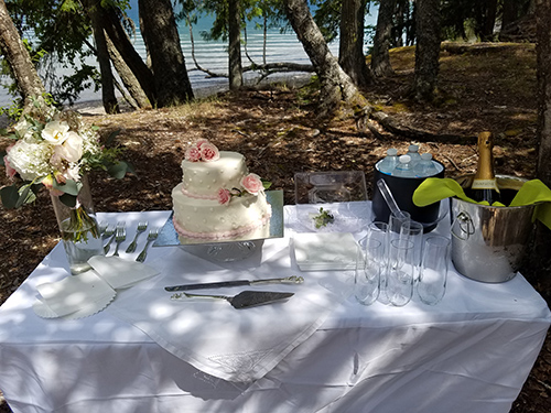 Small Montana Wedding Ceremony