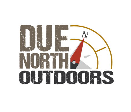 Due North Outdoors - Graphic design client of Danielle Alexander Design in Golden Valley, MN