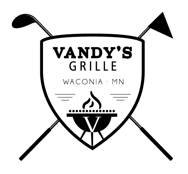 Vandy's Grille - Graphic design client of Danielle Alexander Design in Waconia, MN