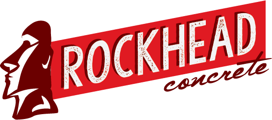 Rockhead Concrete - Graphic design client of Danielle Alexander Design in Cedar Rapids, IA