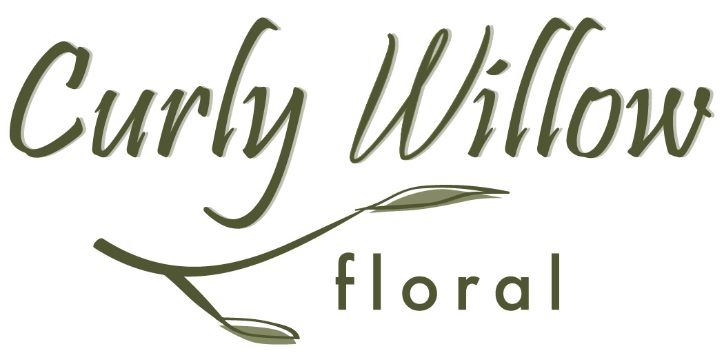 Curly Willow Floral - Graphic design client of Danielle Alexander Design in Waconia, MN