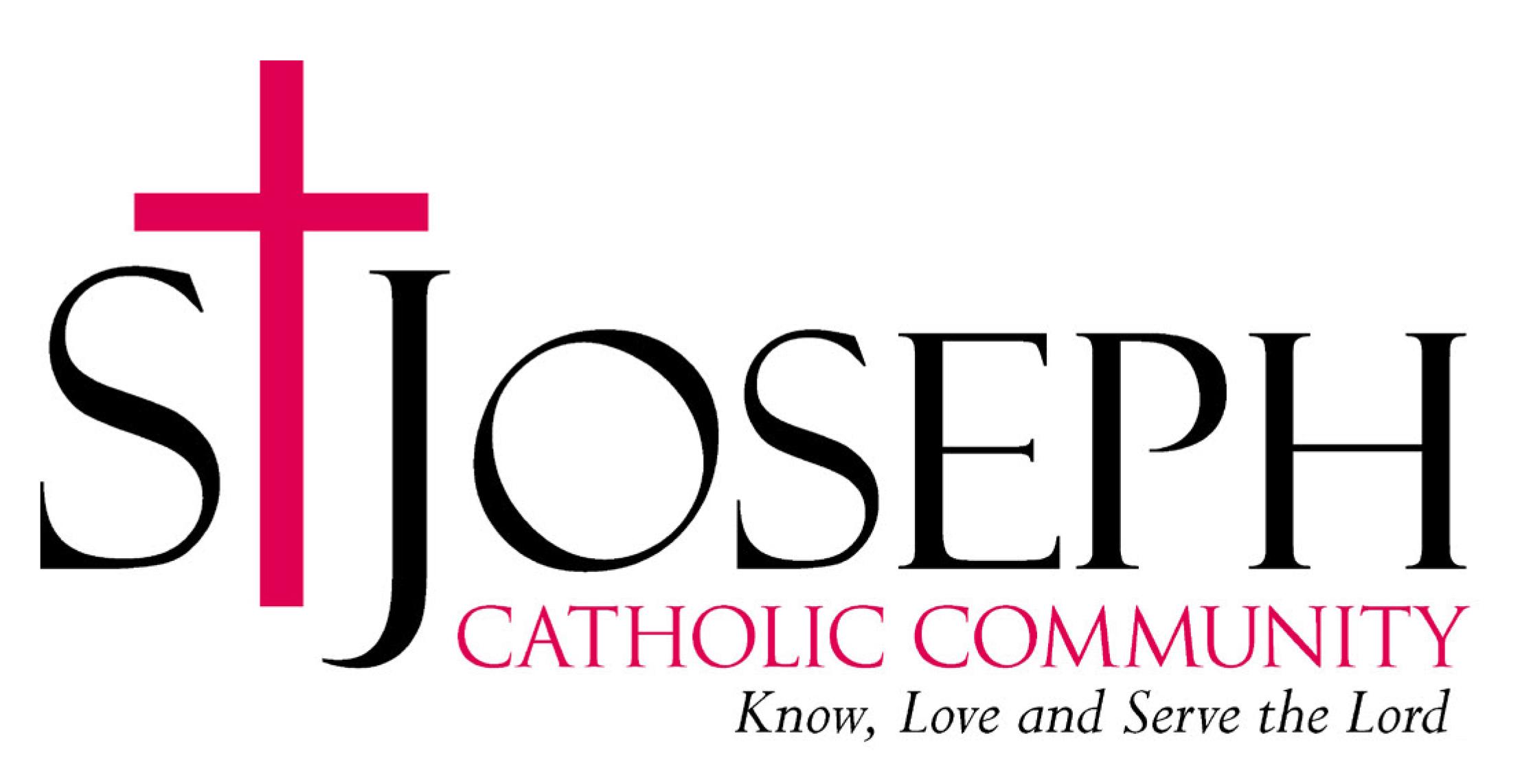 St. Joseph Catholic Community - Graphic design client of Danielle Alexander Design in Waconia, MN
