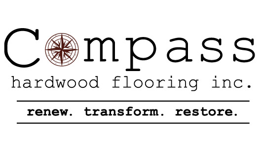 Compass Hardwood Flooring Inc. - Graphic design client of Danielle Alexander Design in Waconia, MN